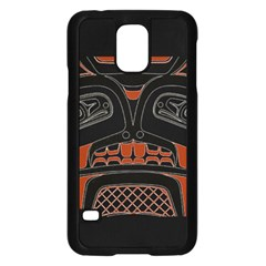 Traditional Northwest Coast Native Art Samsung Galaxy S5 Case (black) by BangZart