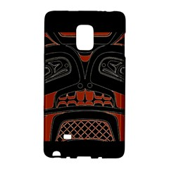 Traditional Northwest Coast Native Art Galaxy Note Edge by BangZart