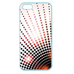 Radial Dotted Lights Apple Seamless Iphone 5 Case (color)