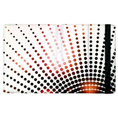Radial Dotted Lights Apple Ipad 2 Flip Case by BangZart