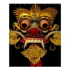 Bali Mask Shower Curtain 60  X 72  (medium)  by BangZart