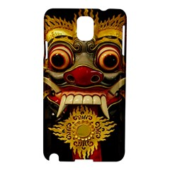 Bali Mask Samsung Galaxy Note 3 N9005 Hardshell Case