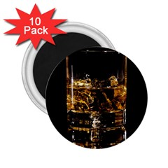 Drink Good Whiskey 2 25  Magnets (10 Pack)