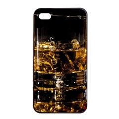 Drink Good Whiskey Apple Iphone 4/4s Seamless Case (black)