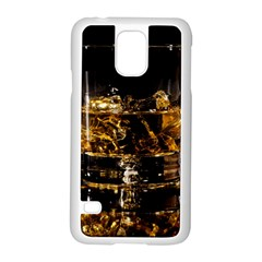 Drink Good Whiskey Samsung Galaxy S5 Case (white) by BangZart