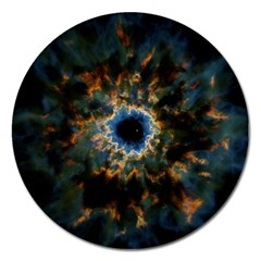 Crazy  Giant Galaxy Nebula Magnet 5  (round) by BangZart