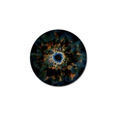 Crazy  Giant Galaxy Nebula Golf Ball Marker (10 Pack) by BangZart