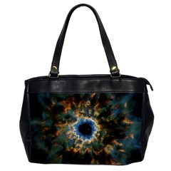 Crazy  Giant Galaxy Nebula Office Handbags (2 Sides)  by BangZart