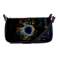 Crazy  Giant Galaxy Nebula Shoulder Clutch Bags by BangZart
