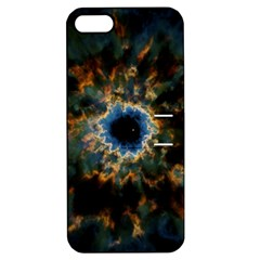 Crazy  Giant Galaxy Nebula Apple Iphone 5 Hardshell Case With Stand