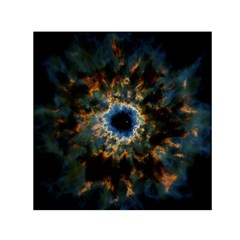 Crazy  Giant Galaxy Nebula Small Satin Scarf (square) by BangZart