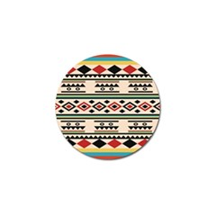 Tribal Pattern Golf Ball Marker (10 Pack) by BangZart
