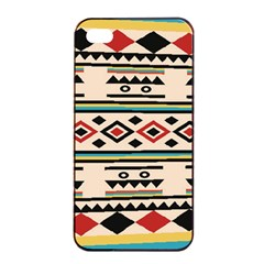 Tribal Pattern Apple Iphone 4/4s Seamless Case (black) by BangZart