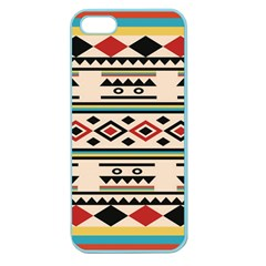 Tribal Pattern Apple Seamless Iphone 5 Case (color)