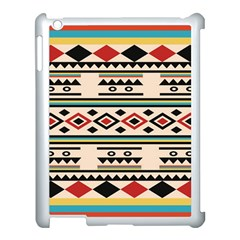 Tribal Pattern Apple Ipad 3/4 Case (white)