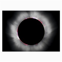 Solar Eclipse Large Glasses Cloth (2 Side) by BangZart