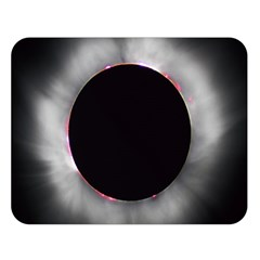 Solar Eclipse Double Sided Flano Blanket (large)  by BangZart