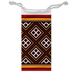 Toraja Pattern Pa re po  Sanguba ( Dancing Alone ) Jewelry Bag