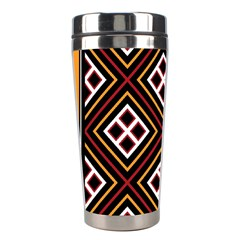 Toraja Pattern Pa re po  Sanguba ( Dancing Alone ) Stainless Steel Travel Tumblers by BangZart
