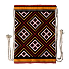 Toraja Pattern Pa re po  Sanguba ( Dancing Alone ) Drawstring Bag (large) by BangZart