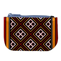 Toraja Pattern Pa re po  Sanguba ( Dancing Alone ) Large Coin Purse by BangZart
