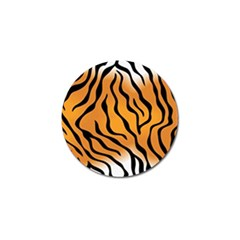 Tiger Skin Pattern Golf Ball Marker (10 Pack) by BangZart