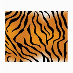 Tiger Skin Pattern Small Glasses Cloth by BangZart