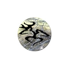Black Love Browning Deer Camo Golf Ball Marker (10 Pack)