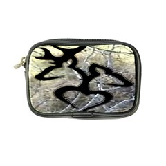 Black Love Browning Deer Camo Coin Purse