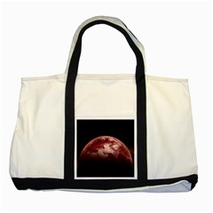 Planet Fantasy Art Two Tone Tote Bag