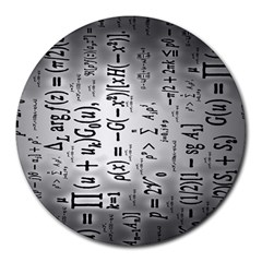 Science Formulas Round Mousepads