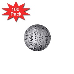 Science Formulas 1  Mini Buttons (100 Pack)  by BangZart