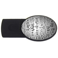 Science Formulas Usb Flash Drive Oval (4 Gb)