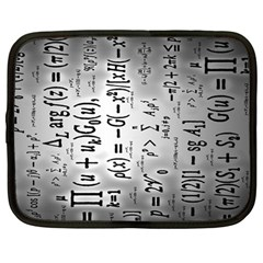Science Formulas Netbook Case (large) by BangZart