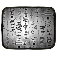 Science Formulas Netbook Case (xxl)  by BangZart