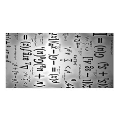 Science Formulas Satin Shawl