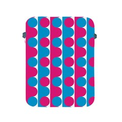 Pink And Bluedots Pattern Apple Ipad 2/3/4 Protective Soft Cases by BangZart