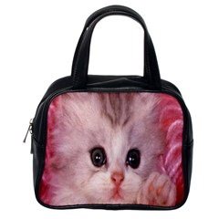 Cat  Animal  Kitten  Pet Classic Handbags (one Side)