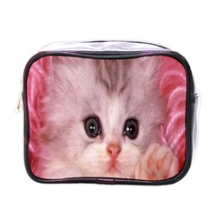Cat  Animal  Kitten  Pet Mini Toiletries Bags by BangZart