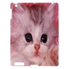 Cat  Animal  Kitten  Pet Apple Ipad 3/4 Hardshell Case by BangZart