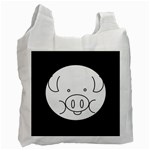 Pig Logo Recycle Bag (One Side) Front
