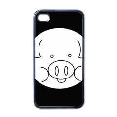 Pig Logo Apple Iphone 4 Case (black) by BangZart