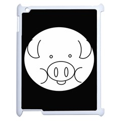 Pig Logo Apple Ipad 2 Case (white)