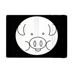 Pig Logo Apple Ipad Mini Flip Case