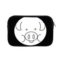 Pig Logo Apple Ipad Mini Zipper Cases by BangZart