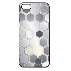 Honeycomb Pattern Apple Iphone 5 Seamless Case (black)