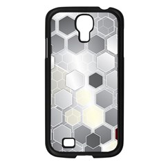 Honeycomb Pattern Samsung Galaxy S4 I9500/ I9505 Case (black)