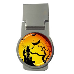 Halloween Night Terrors Money Clips (round)