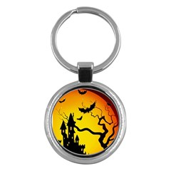 Halloween Night Terrors Key Chains (round)  by BangZart