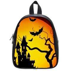 Halloween Night Terrors School Bags (small)  by BangZart